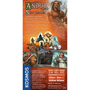 Legends of Andor: New Heroes (Expansion Pack)