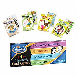 ThinkFun 4 Childrens Card Games