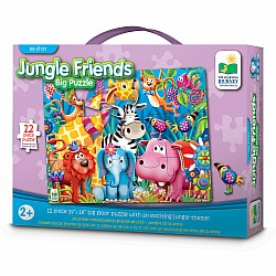 BIG FLOOR PUZZLE- JUNGLE FRIENDS