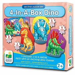 4-In-A-Box Puzzles - Dino