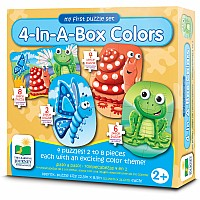 My First Puzzle Sets 4-In-A-Box Puzzles - Colors