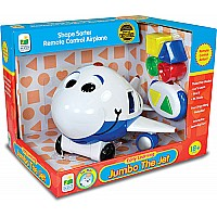Remote Control Shape Sorter - Jumbo The Jet Plane