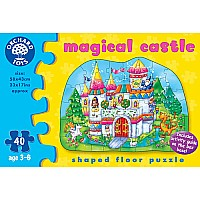 Magical Castle Floor Puzzle - 40 pc