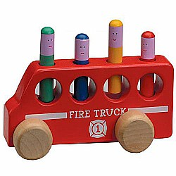Pop Up Fire Truck