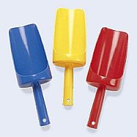 Large Sand Scoop - Please indicate color of choice in customer notes. Colors available: red, yellow, blue