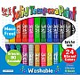 KwikStix Tempera Paint - 24 Pack - Classic, Metalix, Neon Colors