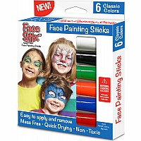 Face Paint Stix - 6 pack