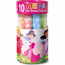 Dry Erase Mega Crayon- Enchanted Princesses