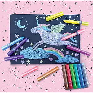 Razzle Dazzle Glitter Gel Crayons- Unicorn Magic