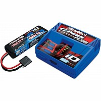 Battery/charger completer pack (includes #2970 iD charger (1), #2843X 5800mAh 7.4V 2-cell 25C LiPo battery (1))