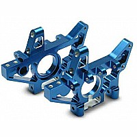 Bulkheads, front (machined 6061-T6 aluminum) (blue) (l&r) (requires use of 4939X suspension pins)
