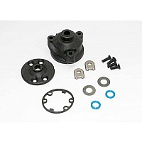 Housing, center differential/ x-ring gaskets (2)/ ring gear gasket/ bushings (2)/ 5x10x0.5 TW (2)/ CCS 2.5x8 (4)