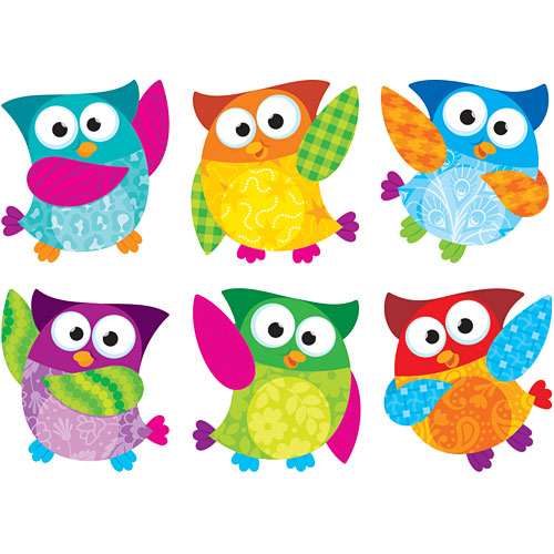 Owl-stars! Classic Accents Variety Cut Outs - from Trend Enterprises-  another great item from KB Learning Center