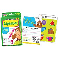 Alphabet Wipe-Off Cards