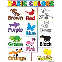 Basic Colors Chart