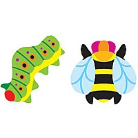 Totally Buggy Supershapes Stickers
