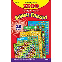 Animal Friends Value Pack Stickers