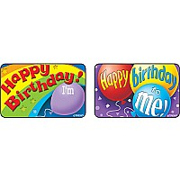 Birthday Time Large Applause Stickers