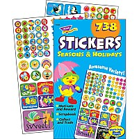 Seasons Holidays - Sticker Pad