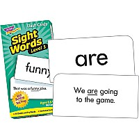 Sight Words Level 1 Flashcards