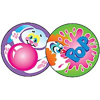 Blowing Bubbles - Bubble Gum Stinky Stickers