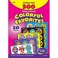 Colorful Favorites Stinky Stickers Variety Pack