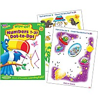 Numbers 1-31 Dot-to-dot