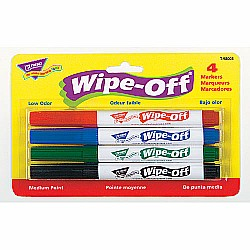 WIPE OFF MARKERS STANDARD COLORS