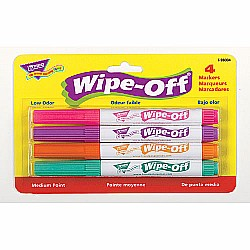 WIPE OFF MARKERS BRIGHT COLORS