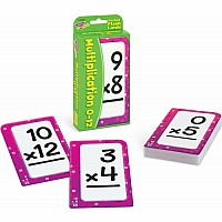 Multiplication 0-12 Pocket Flash Cards