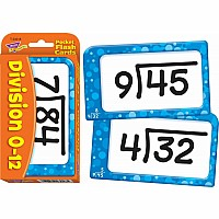 Division 0-12 Pocket Flash Cards