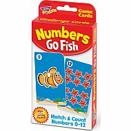 Numbers Go Fish Challenge Cards