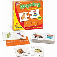 Rhyming - Fun-to-Know Puzzles