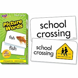 Picture Words Skill Drill Flash Cards