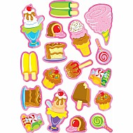 Sweet Treats/Strawberry Mixed Shapes Stinky Stickers