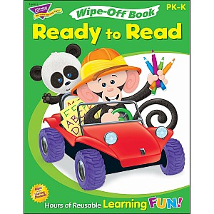 Ready To Read-Level 1 Monkey Mischief Wipe-Off Book