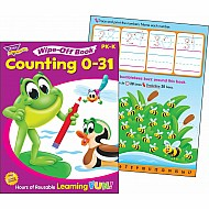 Counting 0-31 Wipe-Off Book
