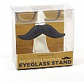 Two's Company Cupcakes and Cartwheels Mustache Eyeglass Holder