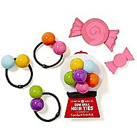 Set Of 3 Love The Bead Hair Band Tie Bobble Pack by Carousel Home