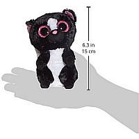 Ty Beanie Boos Flora Black/White Skunk Plush