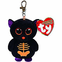 "Ty Beanie Boo Boos 3"" Key Clip - Fangs the Bat (Halloween Exclusive)"