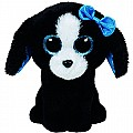 Ty Tracey Dog Plush, Black/White, Regular