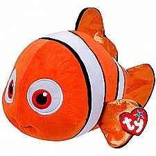 Ty Beanie Babies Finding Dory Nemo Fish Medium Plush