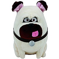 Ty Beanie Babies Secret Life of Pets Mel The Dog Medium Plush