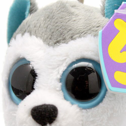 Ty Beanie Boos Slush Clip The Husky Boing Toy Shop
