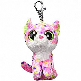 Carletto Ty 36634ï¾ sophie Cat Clip With Glitter Eyes, Glubschi's Beanie