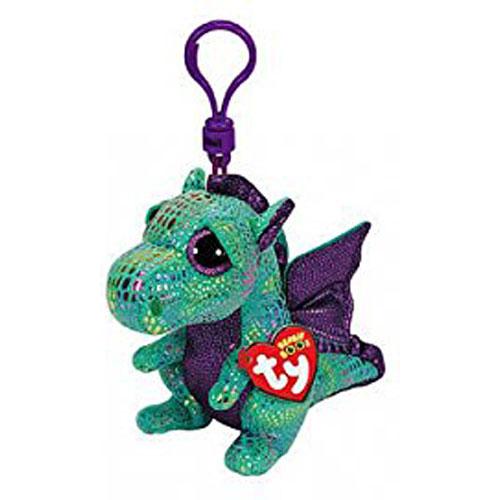 b4f06c71fb8 Beanie Boo Clip Cinder the Green Dragon - Stevensons Toys