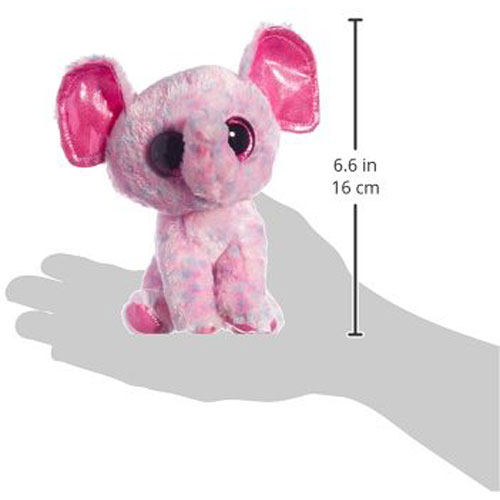 Ty Beanie Boos Ellie Pink Speckled Elephant Regular Plush G Willikers
