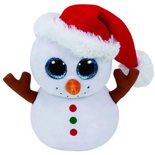 Beanie Boo Scoop the Snowman - Stevensons Toys 803070ba975