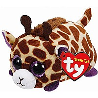 Mabs Giraffe - Teeny Tys 4 inch - Stuffed Animal by Ty (42140)